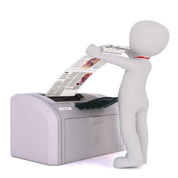 Papír do tiskárny.